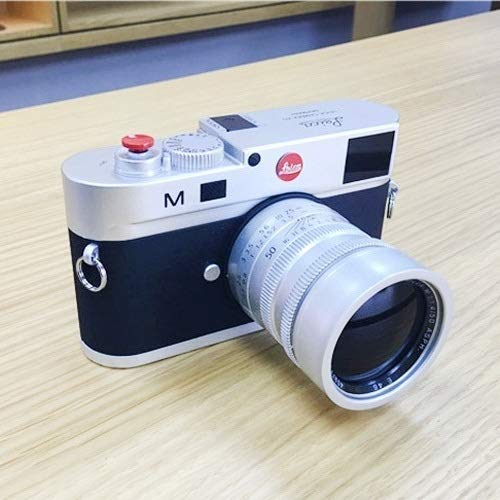 For camera Paulclub Non-Working Dummy DSLR Camera Model Photo Studio Props for Leica M, Long Lens(Silver) (Color…