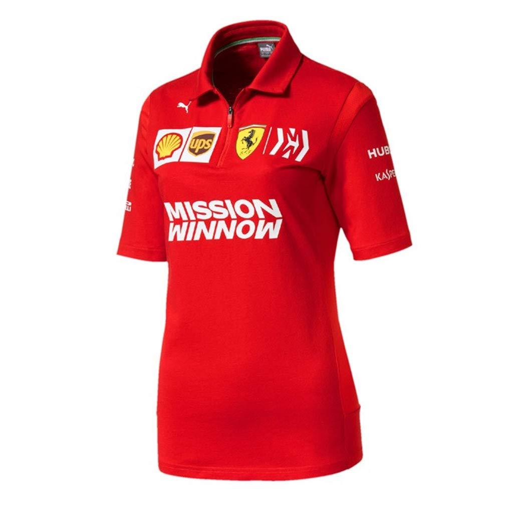 Scuderia Ferrari F1 Racing SF Team Femmes Polo Shirt Rouge Officielle 2019