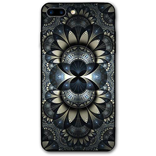Phone Case Compatible with iPhone 7 Plus iPhone 8 Plus Inspiration Flower Lightweight Anti-Fingerprint Slim Soft ()