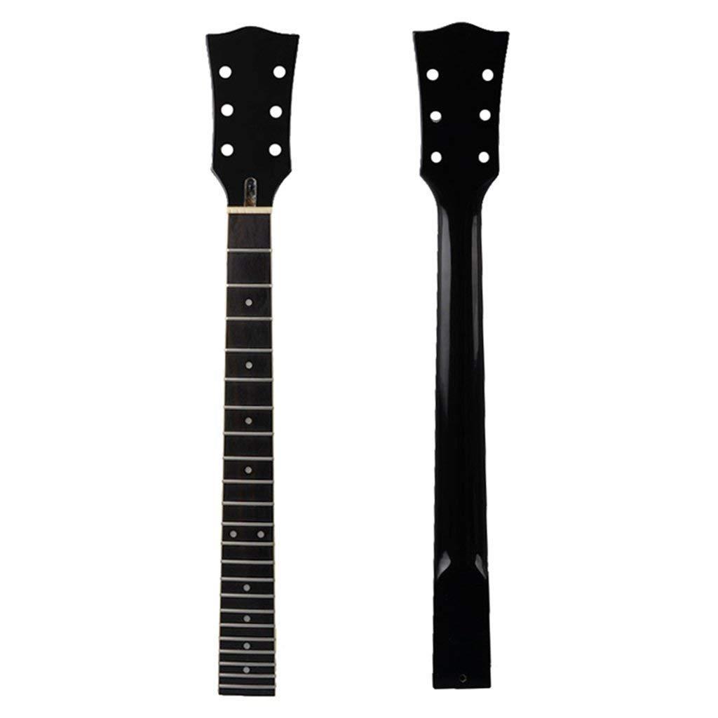Mahagoni Gitarren Hals 22 Bünde Griffbrett DIY für Les Paul E Gitarre