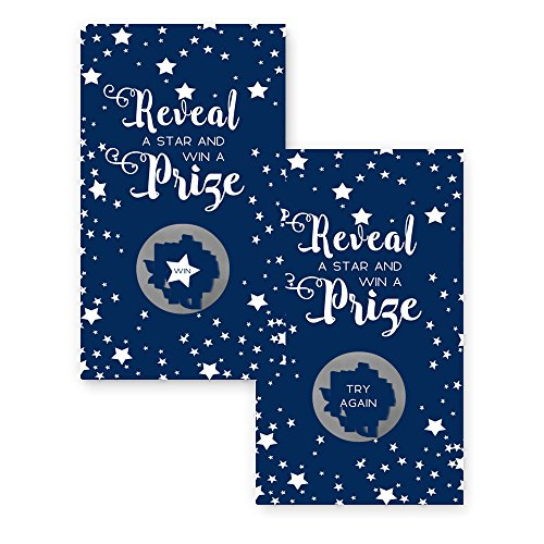 Navy Star Scratch Off Game Card Set of 28