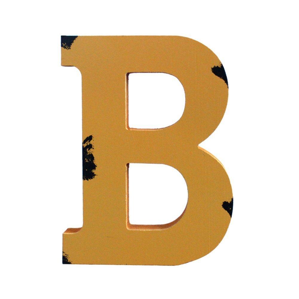 Alphabet A-Z Vintage-Handwerk GossipBoy Holzbuchstaben Gesch/äfts-Schilder Gesch/äfte Hochzeits-Dekoration 17,8 cm a Festivals mehrfarbiges Wanddekor f/ür Zuhause Kindergarten Namen