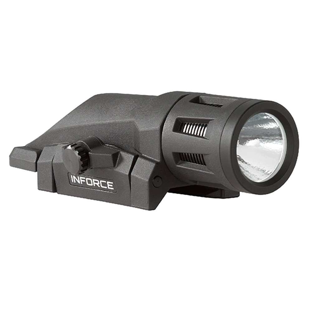 Inforce W-05-1 400 Lumens Gen 2 Multi-Function Weapon Mounted Light, White/Black, XXX-Large by Inforce