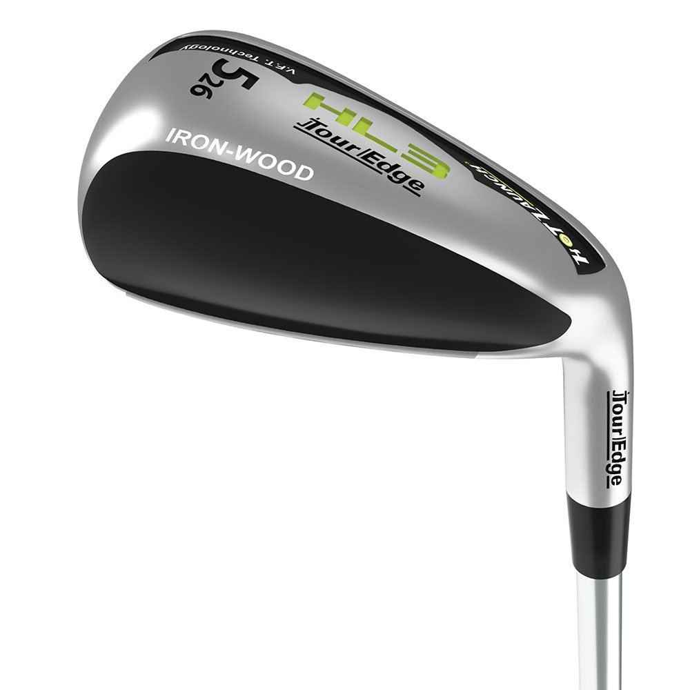 Tour Edge New Lady Left Handed Hot Launch 3 Irons 5-PW+AW Iron-Wood 2018