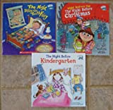 Natasha Wing Set of 3 Books (The Night Before Kindergarten ~ The Night Before the Tooth Fairy ~ The Night Before the Night Before Christmas)