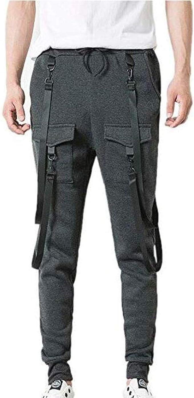 Pantalones de chándal de Fitness para Hombre Estilo Hip Hop ...