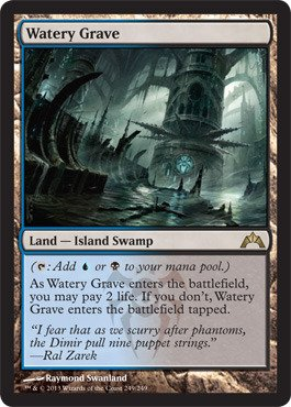 Magic: the Gathering - Watery Grave (249) - Gatecrash - - Raymond Purchase Online