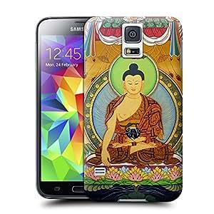 BreathePattern-Tibet murals08 Plastic Protective Case-Samsung Galaxy S5 case