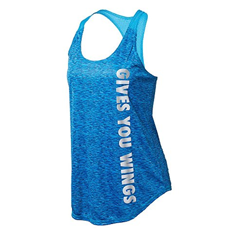 Red Bull Signature Series Women's Space Dye Performance Tank Blue X-Large