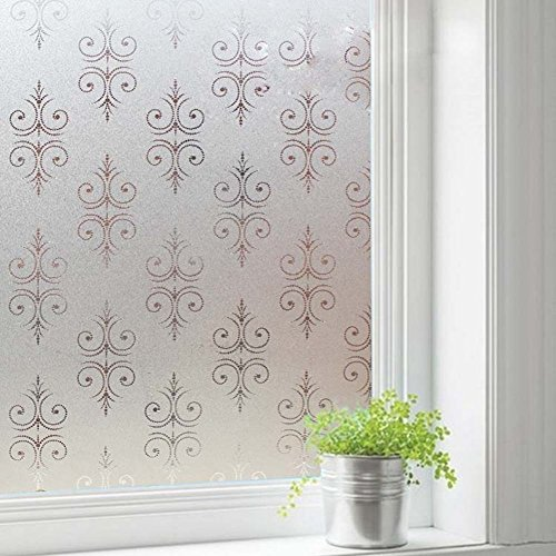 Decorative Window Floral Decals Amazoncom - Window decals amazon
