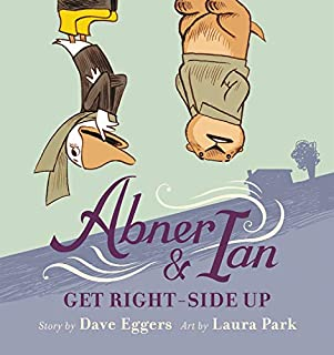 Book Cover: Abner & Ian Get Right-Side Up