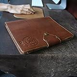 The Officially Licensed Crimson Tide Vanderbilt Fine Leather Portfolio Padfolio