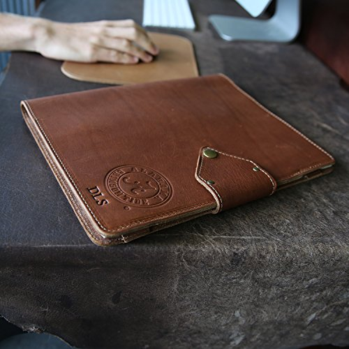 The Officially Licensed Crimson Tide Vanderbilt Fine Leather Portfolio Padfolio by Holtz Leather Co.