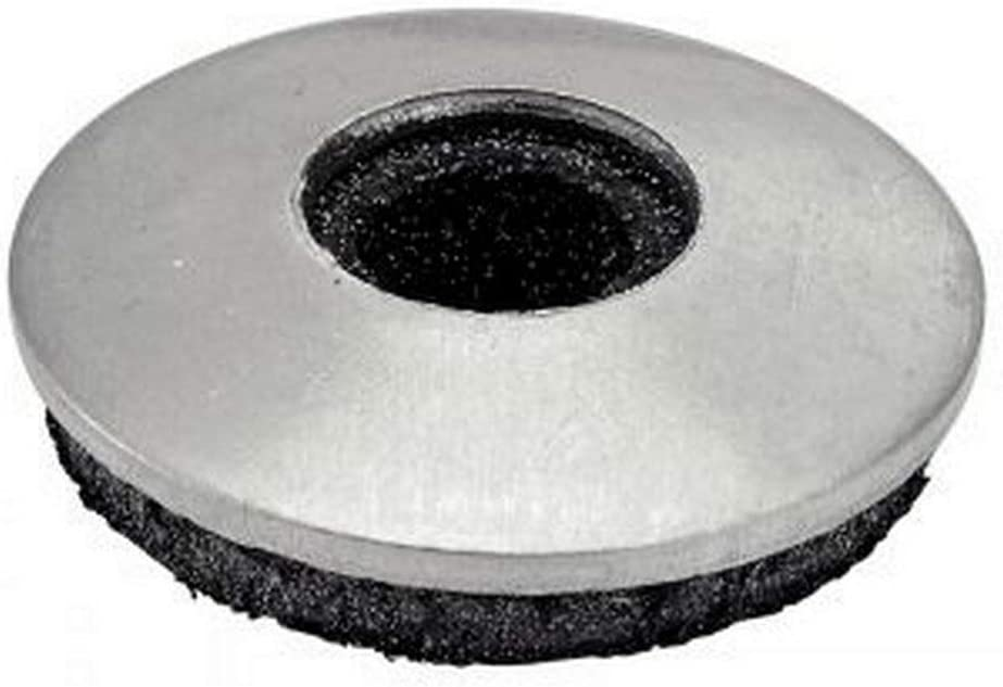Lot de 100 rondelles EPDM en acier inoxydable A2 19 x 5,5 mm