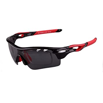 3763a87d19 Man and Woman Glasses Outdoor Sports Anti-ultraviolet Anti-glare Semi-frame  Electroplating