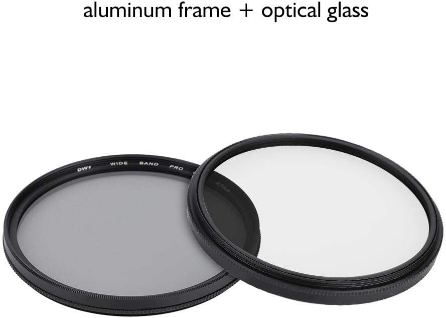 67MM Serounder Camera CPL Filter,Photography 58mm//67mm Ultra Slim Optical Glass Circular Pole Lens Filter with Filter Box for Shooting