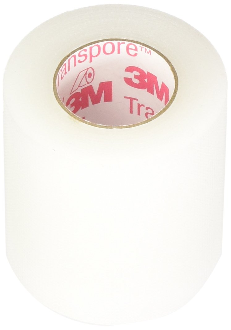 3M Transpore Clear Plastic Tape - 2 x 10 Yds - Box by Minnesota