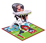 Creative Converting Farmhouse Fun High Chair Birthday Decoration Kit