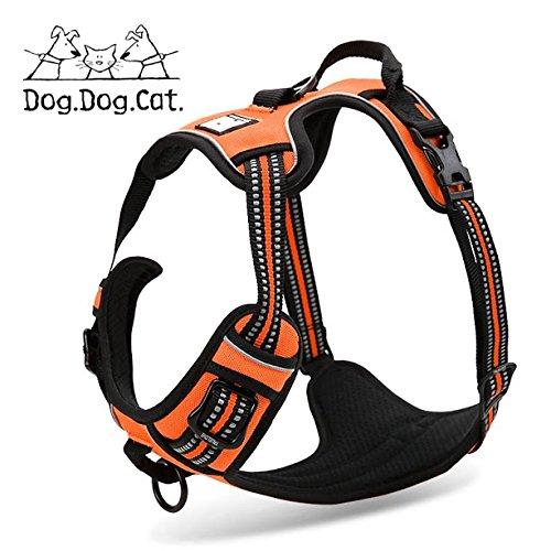 orange LRG orange LRG No-Pull Non-Choking Training Dog Harness. (LRG, orange)