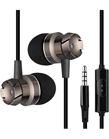 Liquidación ¡Venta caliente! Auriculares Cebbay 3.5mm Metal In-Ear Micrófono estéreo Subwoofer