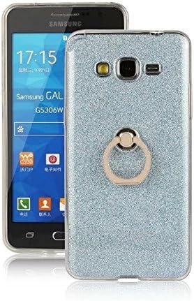Samsung Galaxy Grand primer caso, Premium anillo titular TPU atrás Case para Samsung Galaxy Grand primer / G530 (Color : Blue , Size : Bling Style) : Amazon.es: Electrónica