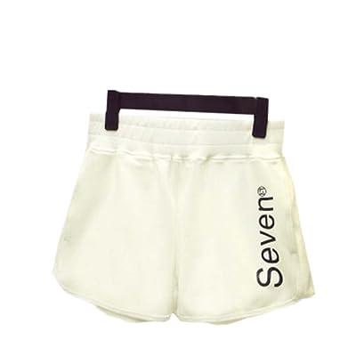 Shorts de salon pour femmes chaudes Pantalon de gymnastique élastique, # A 11
