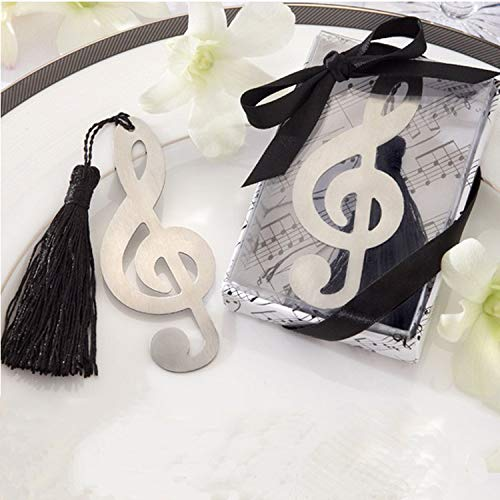 48pcs Musical Notes Bookmarks Party Gifts Wedding Favors for Guests by kensux