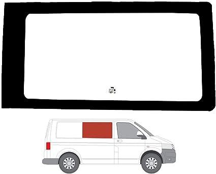 Mano derecha ventana de fijo transparente para Panel lateral OPP. Puerta Corredera VW TRANSPORTER T5 (2003 – 2015): Amazon.es: Coche y moto