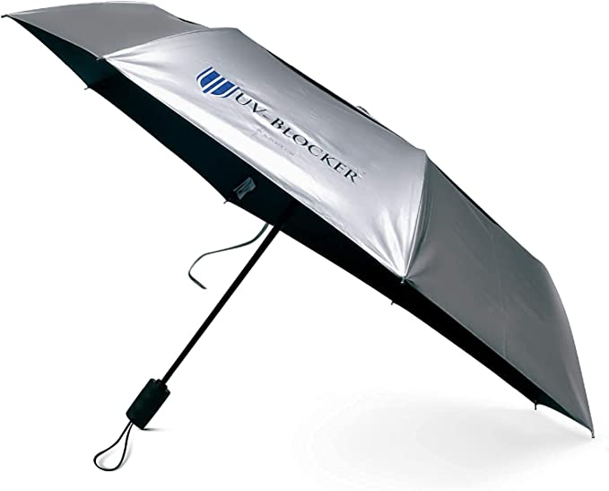 Details about  /Summer Umbrella Anti-UV Protect Semi Automatic Transparent Long-Handle Compact