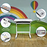 Mount-It! Kids Desk and Chair Set, Height