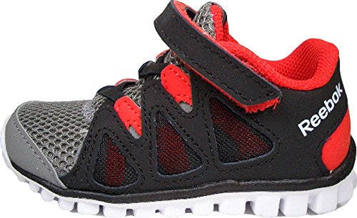 Reebok RealFlex transition Mini Flex V56174 unisex colour negro-rojo talla 22/US 6/UK 5,5/12 cm