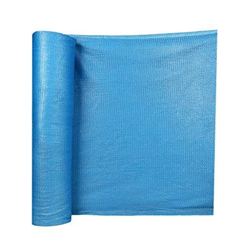 Lixin Sombra de Espesamiento al Aire Libre de Malla de sombrilla de Polietileno de Alta Densidad (Color : Azul, Tamaño : 5M×50M): Amazon.es: Hogar