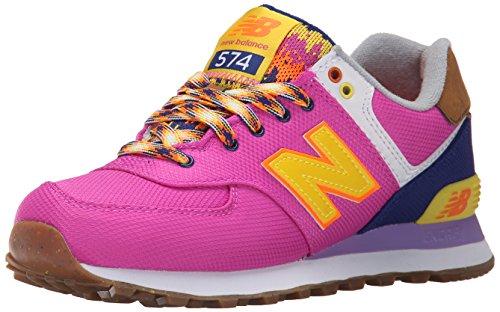 Balance Para New Zapatillas Fucsia Naranja Wl574 Mujer 6AnZqUvw