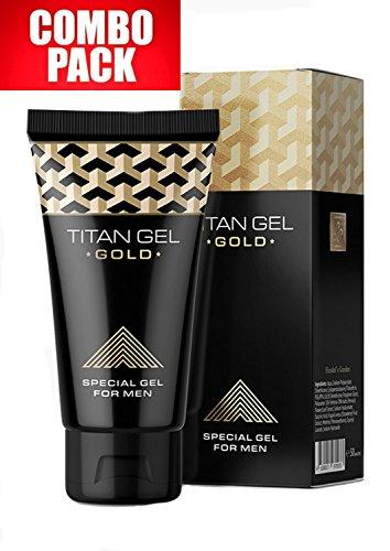 Titan Gel GOLD COMBO PACK 2x50ml. VIP formula special gel for men