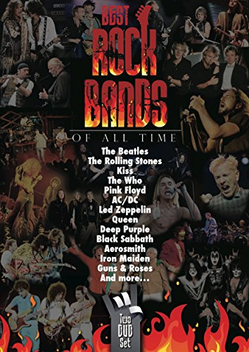 BEST ROCK BANDS OF ALL TIME [ 2 DVD'S] AC/DC,BLUR,CREAM,PEARL JAM,NIRVANA,AEROSMITH Y MAS....