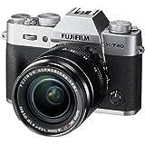 Fujifilm X-T20 Mirrorless Digital Camera w/XF18-55mmF2.8-4.0 R LM OIS Lens - Silver (Certified Refurbished)