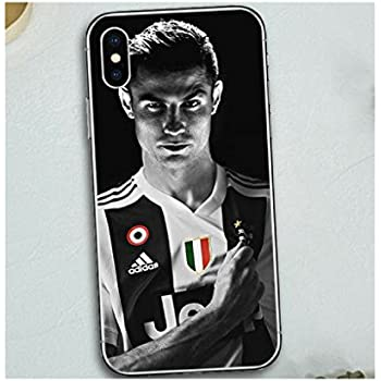 2018 Juventus Cristiano Ronaldo Football Sport Stars Soft Silicon Phone  Cases Cover For iPhone Case 7 5b993d8a7