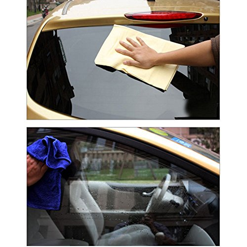 sun pva chamois towel synthetic chamois clean cham car wash soft cloth wheel deals. Black Bedroom Furniture Sets. Home Design Ideas
