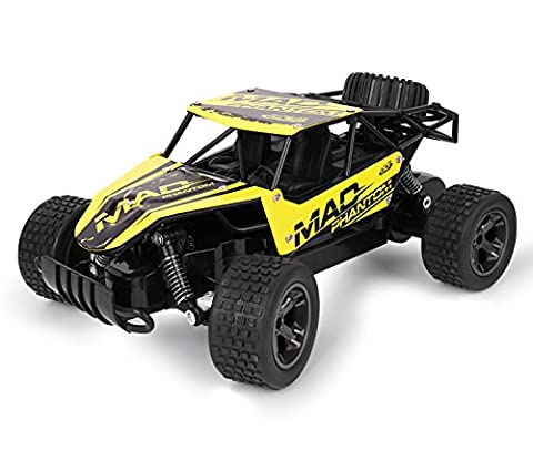 RC Cars, All Terrain Remote Control High-Speed Car,Offroad 2.4Ghz 2WD Remote Control Monster Truck, Best Christmas Gift for Kids and - Performance Brushless System