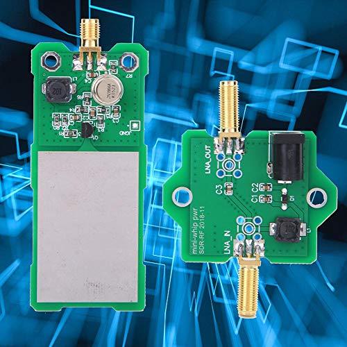 Sistema de antena SDR de onda media y corta con cable Kit de placa de circuito de antena SDR de radio 9V-15V Antena activa de onda corta de 100khz-30mhz