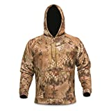 Kryptek Tartaros Hoodie Highlander & Tan Hooded Sweat Shirt (Medium) by Kryptek