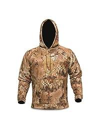 Kryptek Tartaros Hoodie Highlander & Tan Hooded Sweat Shirt (Medium) by Kryptek