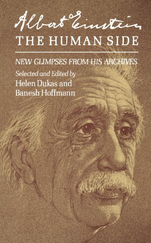 Cover of Albert Einstein, the Human Side: New Glimpses from His Archives