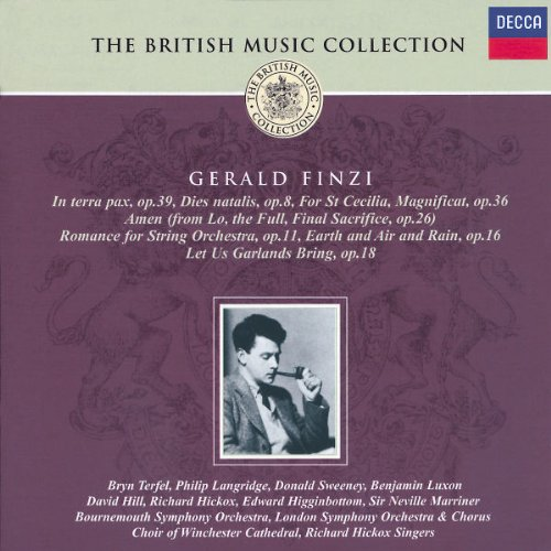 British Music Collection: Finzi Gerald All items Max 84% OFF free shipping