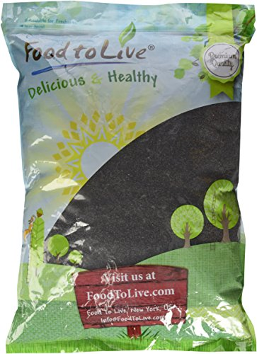 Poppy Seeds by Food to Live (Product of Spain) - 8 Pounds (Poppy Seeds Foods)