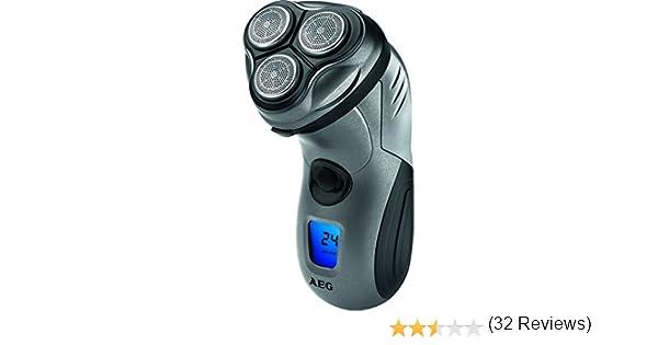 AEG HR 5655 - Afeitadora eléctrica rotativa para hombre, color ...