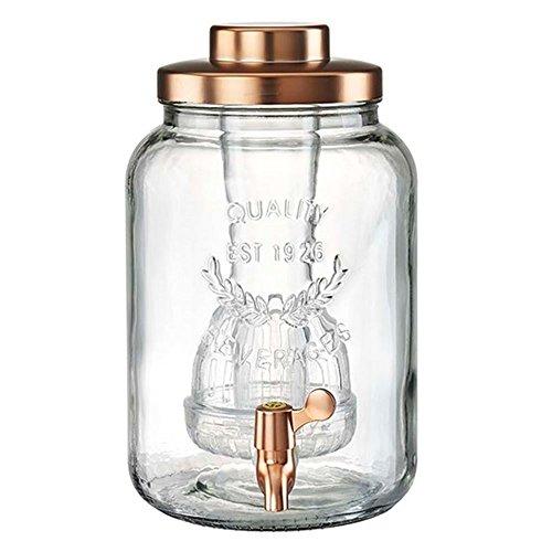 - Artland Masonware Beverage Jar, 2 gallon, Copper