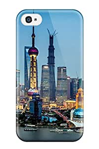 Waterdrop Snap-on Shanghai City Case For Iphone 4/4s