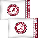 NCAA Alabama Crimson Tide Football Set of Two Pillowcases