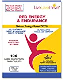 LLT Red Energy & Endurance Patch - Natural Energy - USA Made - 30 Patches offers